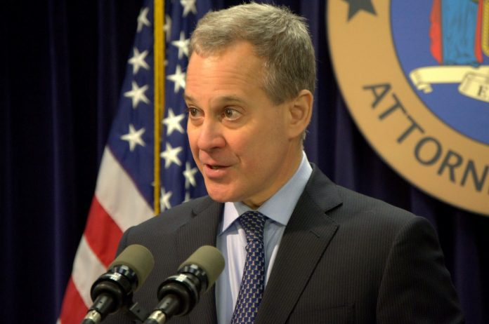 New York AG Eric Schneiderman
