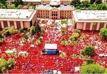 Arizona Teachers RedforED movement Third Day Strike