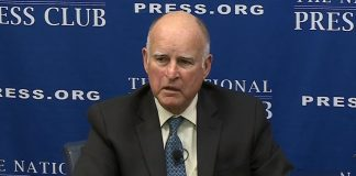 Gov. Brown at National Press Club