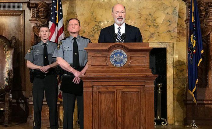Gov. Tom Wolf pushes gun safety legislation