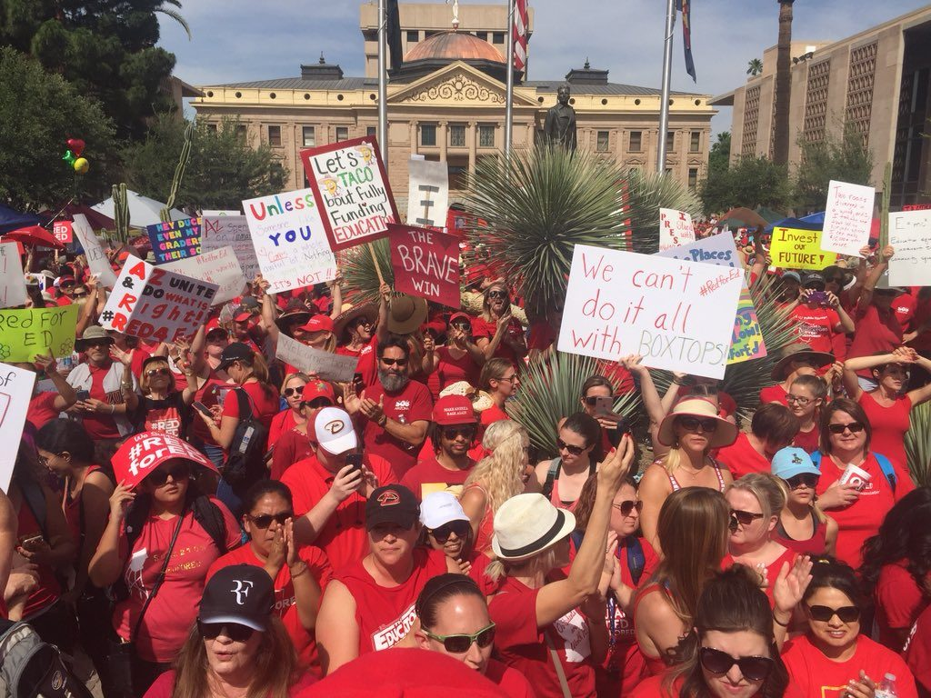 RedforED movement
