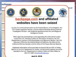 Additional Sordid Details Emerge Regarding Backpage Founders