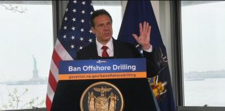 Gov. Cuomo Bans Offshore Drilling in New York Waters