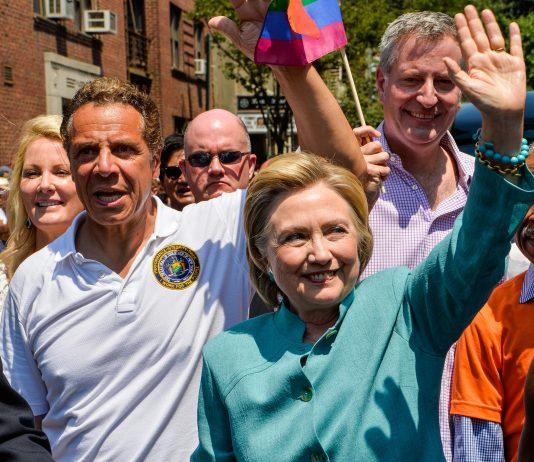 Gov. Cuomo and Hillary Clinton photo
