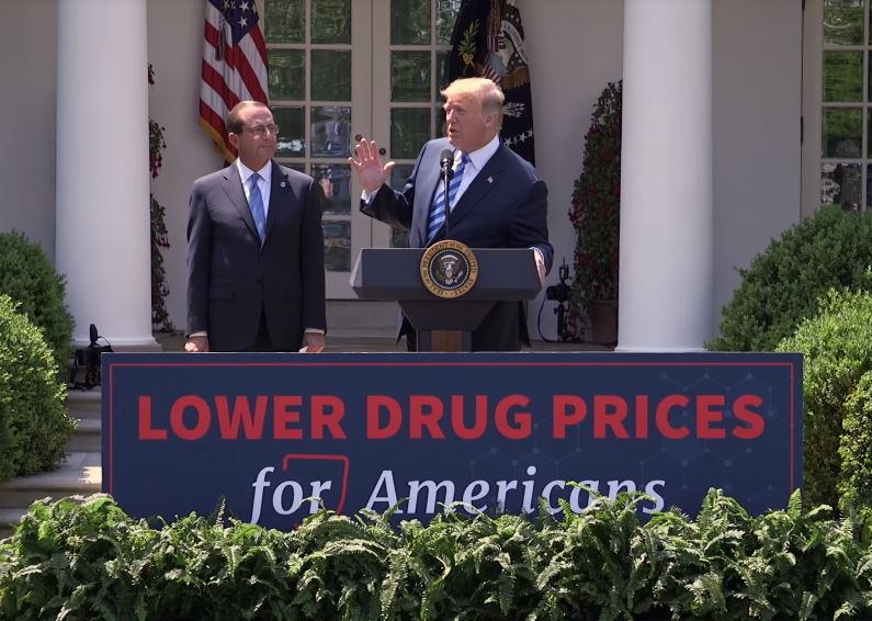 Trump Unveils Plan to Lower Drug Prices