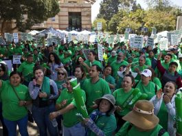 University of California service workers strike
