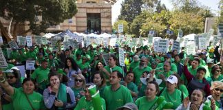 University of California service workers strike