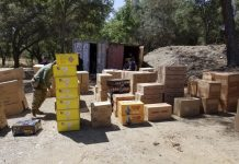 CAL FIRE Seized Illegal Fireworks