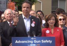 ov. Cuomo advancing gun safety