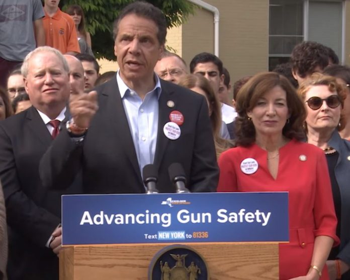 ov. Cuomo advancing gun safety