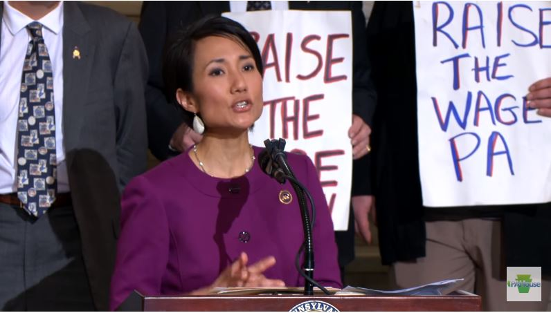 Pennsylvania Rep. Patty Kim-- Raise minimum wage