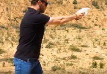 Defense Distributor Founder Cody Wilson firing 3D printed gun