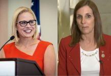 Arizona Senate Race--Sinema vs McSally