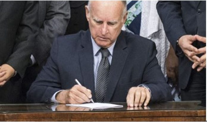 Gov. Brown Signs Bill