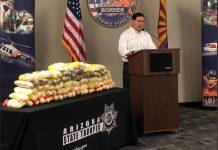 Gov. Ducey-Arizona Border Strike Force--Huge Drug Seizure