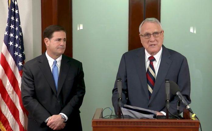 Gov. Ducey Names Former Sen. Jon Kyl to Fill John McCain's Seat