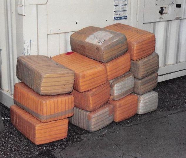 Border Patrol Agents seized 319 pounds marijuana