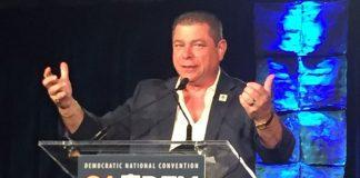 California Democratic Party Chairman Eric Bauman