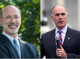 Gov.Wolf, Sen. Casey Win Pennsylvania