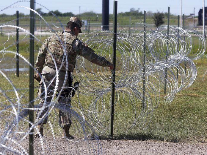 southwest border-barbed wire-