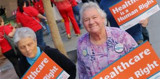 healthcare is human right-California-Medi-Cal-Medicare for all