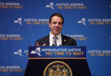 Gov. Cuomo --Reproductive Health Act