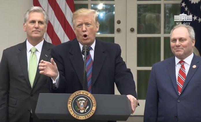 Trump on shutdown, border wall funding