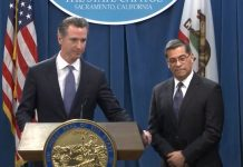 California Gov. Newsom-AG Becerra