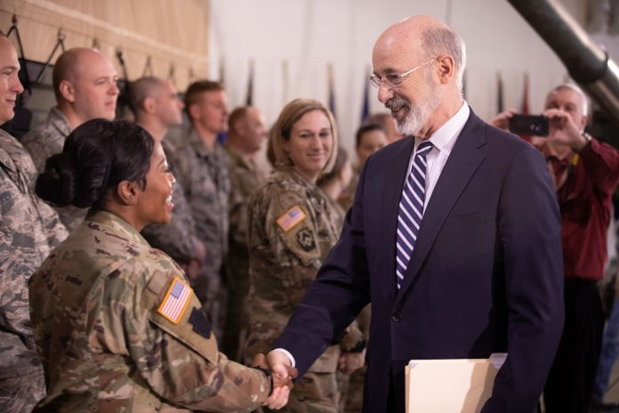Gov. Wolf-PA GI Bill--Pennsylvania National Guard