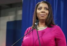New York Attorney General Letitia James