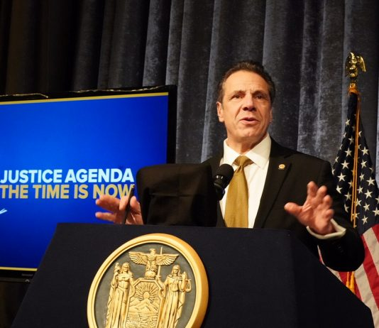 New York-Cuomo-Justice Agenda--single parents
