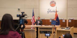 Yuma City Mayor declares local emergency