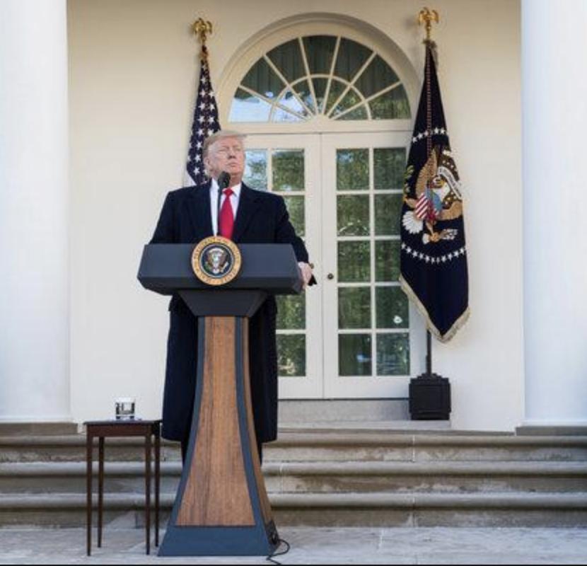 """Trump On Democrats Seeking Tax Returns: """"Law 100% On My"""