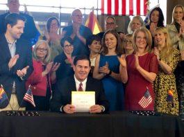 Gov. Doug Ducey sign bill