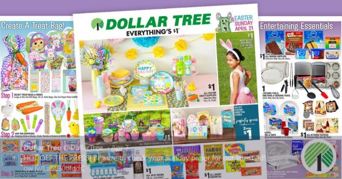 Dollar tree -dollar store products