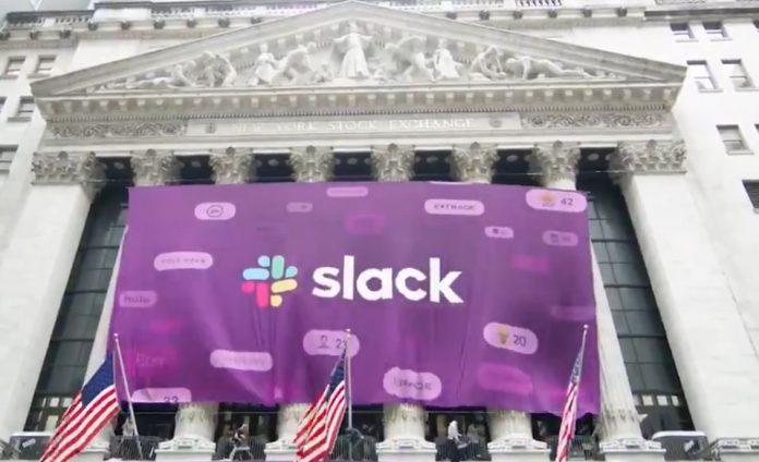 Slackt direct listing NYSE