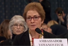 Ambassador Marie Yovanovitch