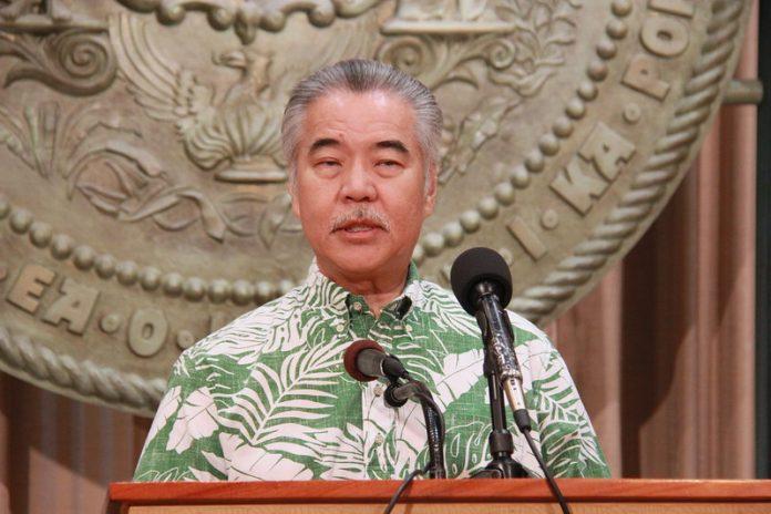 Hawaii Gov. David Ige press con COVID-19