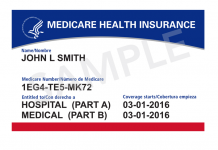 Medicare Card sample
