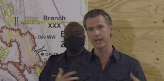 Gov, Newsom presscon California wildfires