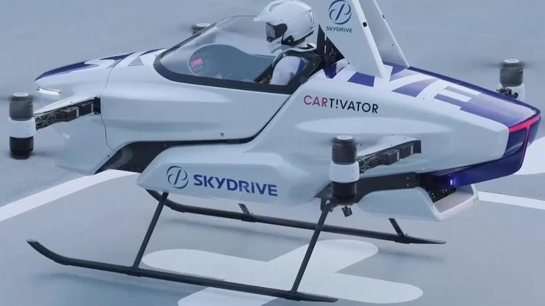 Skydrive's flying car has a successful test flight with a ...