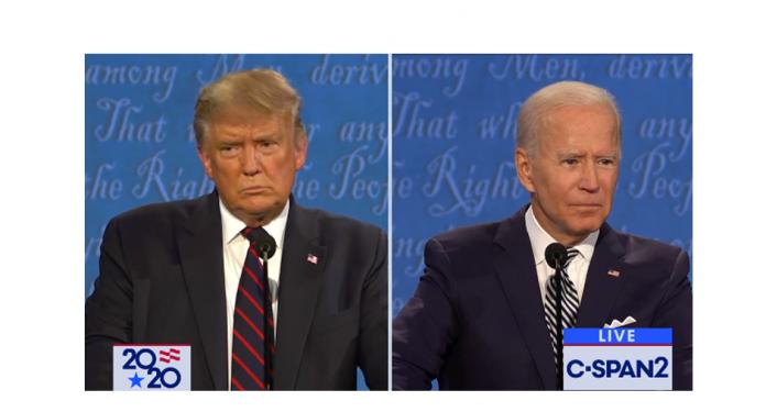 2020 presidential debate biden vs trump