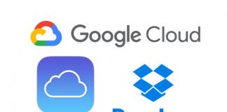 pple Dropbox Google cloud computing