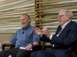 huck Feeney and Warren Buffett