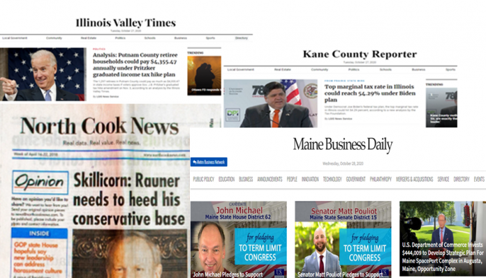 pay-for-play network Maine Business Daily