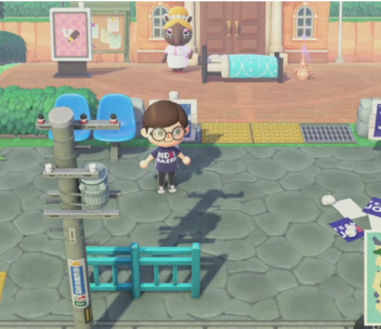 Nintendo Animal Crossing Joe Biden Island