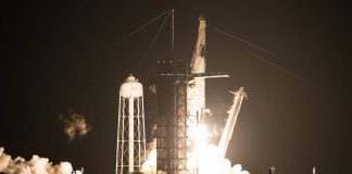 SpaceX crew-1 mission four austronauts to international space station ISS