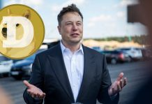 Dogecoin logo, Elon Musk wants Dogecoin to be listed on Coinbase