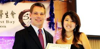 Cong. Eric Swalwell with Chinese spy Christine Fang