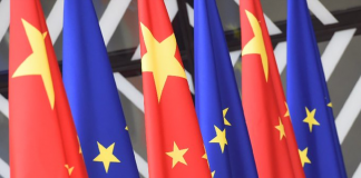EU-China investment deal-flags